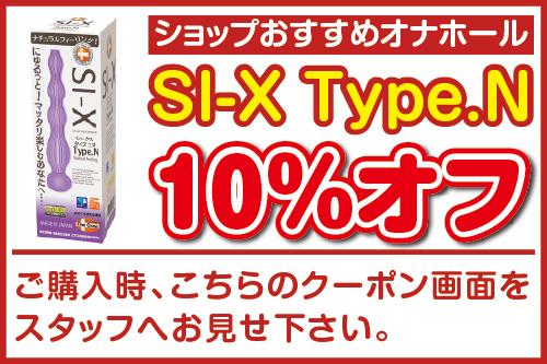 シックス タイプ N 10%オフ