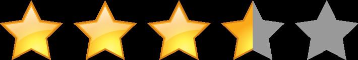 評価星3.5