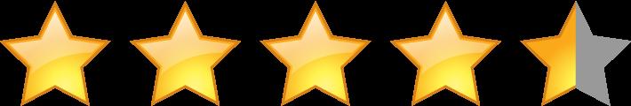 評価星4.5