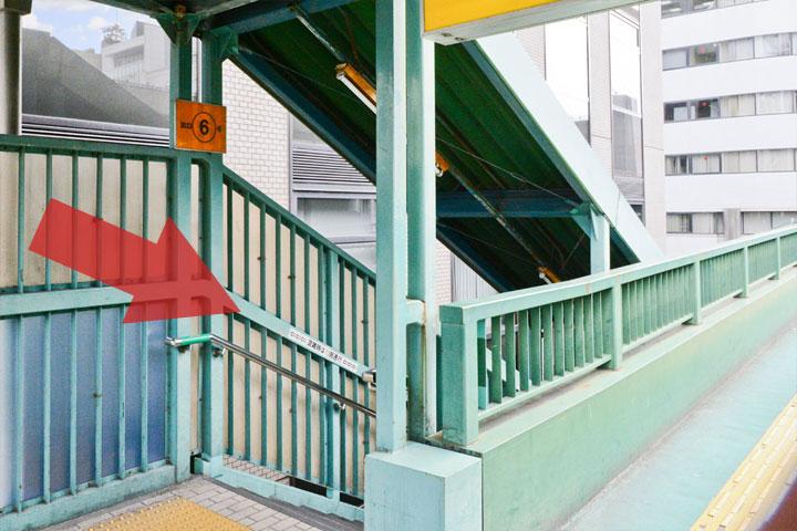 試写室江坂店駅からのルート3