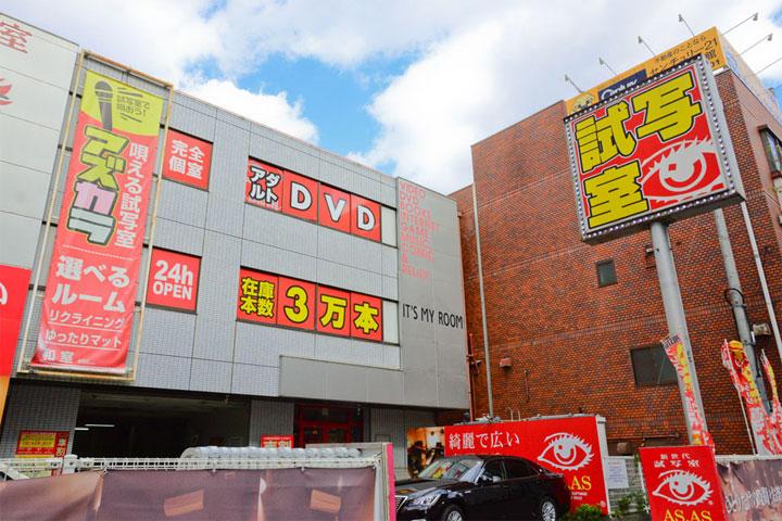 試写室江坂店駅からのルート7