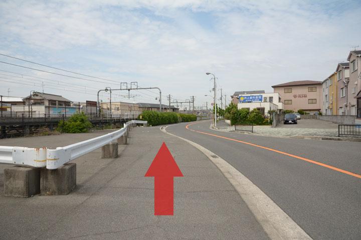 試写室和泉店駅からのルート3