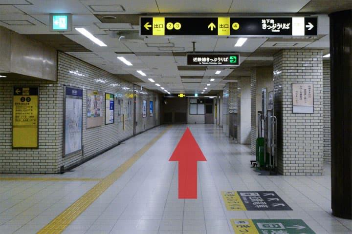 試写室長田店駅からのルート3