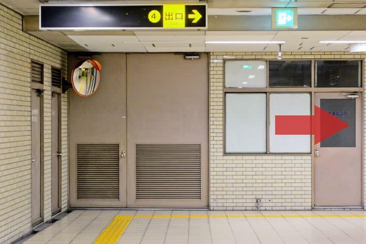 試写室長田店駅からのルート4