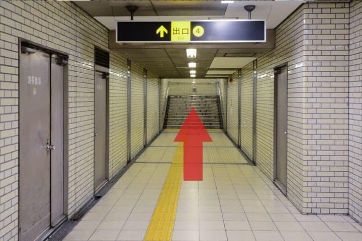 試写室長田店駅からのルート5