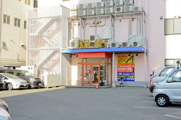 試写室アズアズ第1駐車場