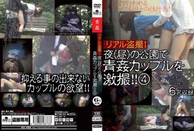 リアル盗撮!夜(昼)の公園で青姦カップルを激撮!! 4