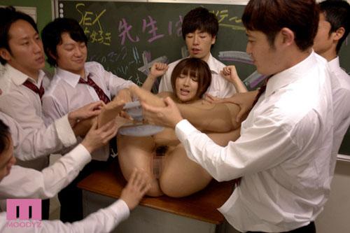 女教師レ×プ輪姦 神咲詩織サンプル画像2