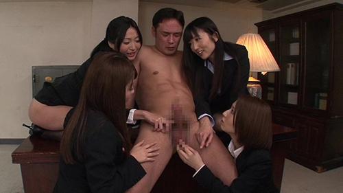 夢の集団痴女秘書オフィス 大槻ひびき 水樹りさ 初美沙希 山本美和子サンプル画像4
