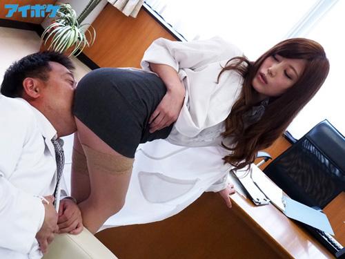 タイトスカート 痴女医の淫らな誘惑 榊梨々亜サンプル画像1