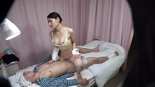 「『あなた本当に初めて?』童貞になりすました患者に激しく突かれ無言の絶叫をくり返す『初物食い』好き夜勤看護師」VOL.1サンプル画像2