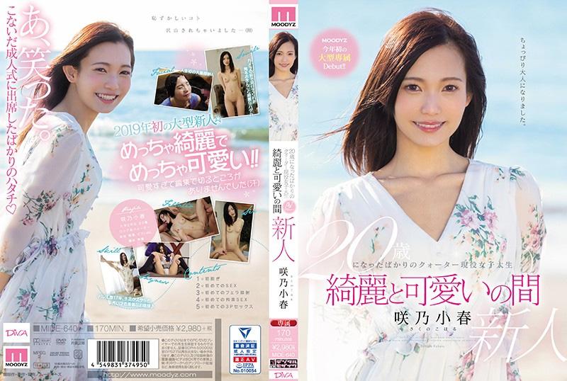 20歳になったばかりのクォーター現役女子大生 綺麗と可愛いの間 咲乃小春