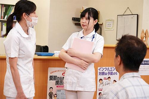 ミスばかりする新人ロリ看護師にダメもとでフェラをお願いしたら意外にOKだったサンプル画像2
